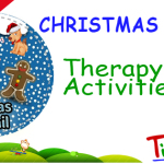 Christmas Trail Game Therapy Activities #3